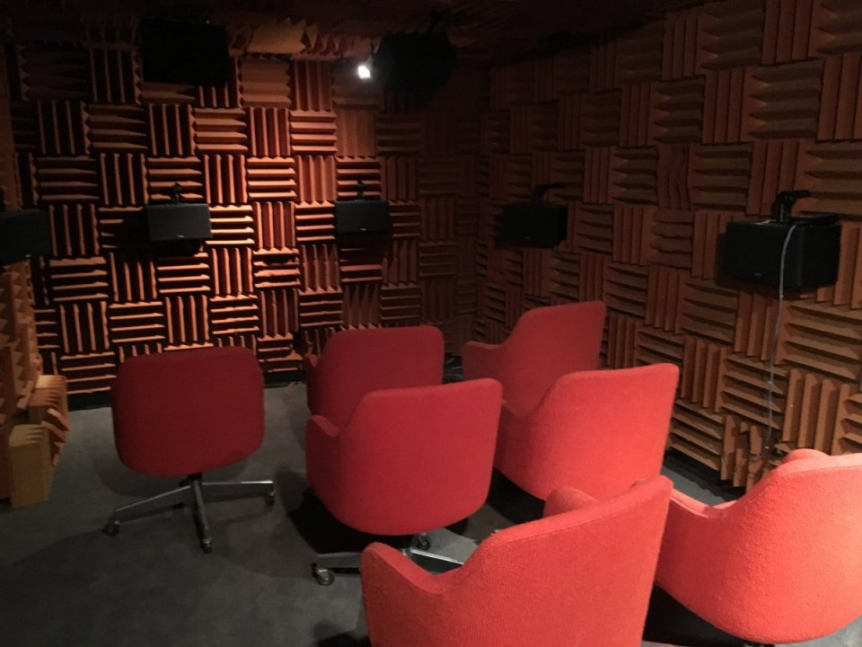Acoustic Simulation Lab - Hemi Anechoic Chamber